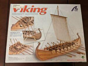 1/75 New Artesania Latina #19001 Viking Wooden Model Ship Boat Kit