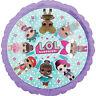 "LOL DOLLS 18"" Round Standard Helium Foil BALLOON Birthday Party Decoration"