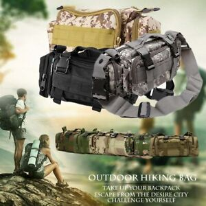 Military Shoulder Bag Reliable Tactical Waist Pack Outdoor Camping Hiking Bag