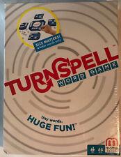 """Turnspell Word Game - Mattel - """"4 Letter Words ONLY!"""" - Brand New - Sealed"""