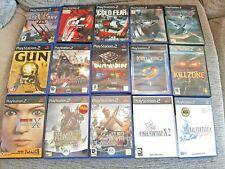 Lote de 15 juegos PS2 Playstation 2