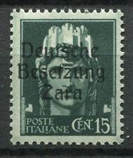 Zara 1943 Sass. 3 Nuovo ** 100% 15 cent. Soprastampato