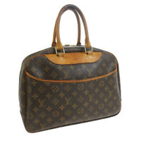 LOUIS VUITTON DEAUVILLE BUSINESS HAND BAG MONOGRAM CANVAS MB0081 M47270 33850