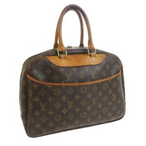 LOUIS VUITTON DEAUVILLE BUSINESS HAND BAG MONOGRAM CANVAS MB0081 M47270 33850