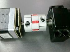 5x5mm Flexible Jaw Plum Coupler CNC Shaft Spider Stepper Motor Coupling 30x35mm