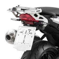 Portapacchi Givi in alluminio Sra691 x bauletti Monokey BMW F800r 2009/2014