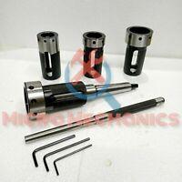 Schneideisenhalter für Drehmaschinen-Reitstock 4er Set MK2 Schaft - Metrisch