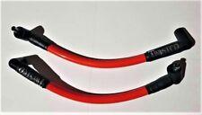 TWISTED 12mm RED SPARK PLUG WIRES HARLEY FXR SUPER GLIDE FXRS LOW RIDER FXLR