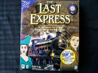 The Last Express - Vintage PC Game - Big Box - Golden Age Before World War One