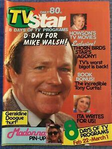 TV Star magazine -1985 - Charlies Angels, Pamela Bellwood, Richard Chamberlain
