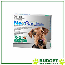 NexGard For Dogs Green Medium 10.1-25kg 6 Chews