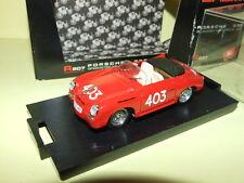 PORSCHE 356 SPEEDSTER MILLE MIGLIA 1952 BRUMM R207