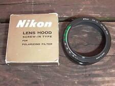 Nikon Lens Hood HN-12 for Polar Filter Boxed NOS