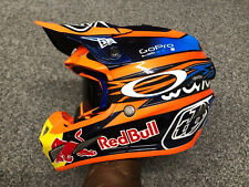 Red Bull Troy Lee Design Factory MX Helmet *Justin Hill*
