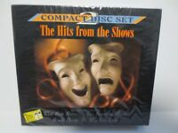 THE HITS FROM THE SHOWS ~ 2-CD SET ~ WEST SIDE STORY ~ THE SOUND OF MUSIC ~ NEW