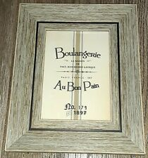 Parisian Home Boulangerie 5x7 Rustic/Farmhouse Distressed Wood Picture Frame