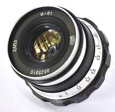 Industar-61 I-61 55mm 50mm f2.8 tessar lens M39 LTM FED Leica 35mm RF camera NEX