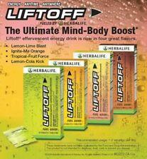 Herbalife LIFTOFF energy focused boost 75mg caffeine no sugar 10 TABLETS💪💚👌
