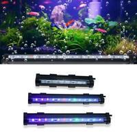 RGB LED Aquarium Air Bubble Fish Tank Lights Multi-color Size 3 Lamp F0B7