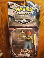 Jakks Pacific 2007 Pokemon Diamond Pearl Ash and Starly figure set, mint on card