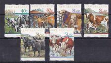 Nuova Zelanda New Zealand 1997 Bovini da riproduzione 1622-27 MNH