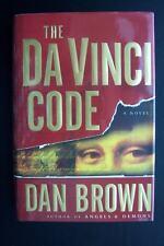 Da Vinci Code Dan Brown Hardcover Early Printing Edition