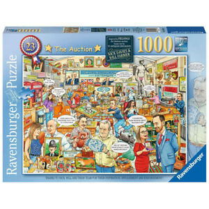 Ravensburger 1000 Piece Jigsaw Puzzle Best of British No.23: The Auction - 19943