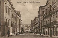 Lisbon,Portugal,Rua de Escola Politechnica,c.1909