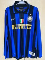 Inter Milan 2007/08 Centenary Zanetti Jersey Maglia Trikot Camiseta Mailot