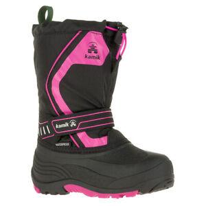 Kamik Kid's Snowcoast3 Boots   Pink, Black, Blue Kids 10, 11, 12, 13   NK8420S