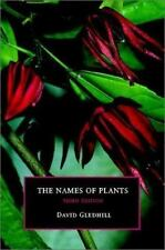 The Names of Plants by Gledhill, David