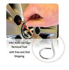 Metallo auto Dadi Ruota Bullone Strumento di rimozione tappo copre per Veicoli VW e AUDI UK