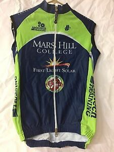 Hincapie Velocity Vest Size XS Mars Hill College Cycling BIke Winter Thermal