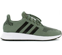Adidas Originals Swift Run Hombre Sneaker Zapatos CG4115 Verde Deportivas Nuevo