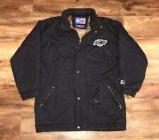 Los Angeles Kings Vintage Starter Paisley NHL Hockey Parka Jacket Large RARE NWA