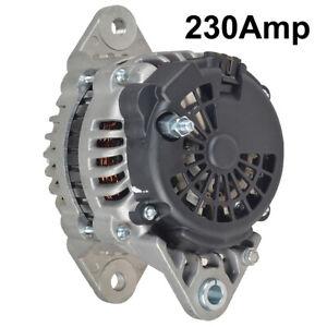 NEW 230AMP ALTERNATOR FITS VOLVO VHD VNM SERIES VED12 2001-2007 8700021 525528