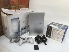 In scatola Sony PlayStation 2/PS2 console-Argento SCPH 50003 Fast Gratis Uk PP