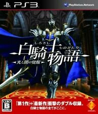PS3 / Sony Playstation 3 Spiel - White Knight Chronicles II JAP nur CD