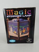 "Magic Spinning Lamp Christmas ""Snowman"" Treasured Times <<<Watch Video>>>"