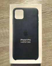 Genuine Apple IPhone 11 Pro Real Leather Midnight Blue Authentic Case Cover