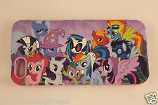 New My Little Pony Group Protective Rubber Coated Hardshell iPhone5 Case