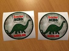 2x Motor Öl Aufkleber Sticker Oil Gasoline vintage Old School Retro Tuning Kult