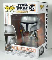 "Funko POP The Mandalorian (Final) ""Gun Up"" Star Wars Vinyl Bobblehead NEW Disney"