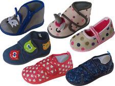 Kinder Hausschuhe Mädchen Jungen Kita Kindergarten Gr. 19-30
