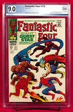FANTASTIC FOUR #73 (Marvel 1968) PGX 9.0 VF/NM Very Fine/Near Mint CLASSIC +CGC!