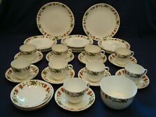 ANTIQUE AYNSLEY TEA SET, CIRCA 1910, 35 PIECES