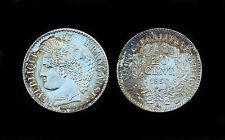 20 Centimes 1850 A (Paris) Cérès. 2°République. Argent. Cote SUP: 80€