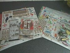 Paper House: Scrap booking kits x 2 - Paradise Found & One Big Happy Family