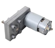 Dc 120 Volt Permanent Magnet Gear Motor All Metal Gears 40 Rpm 12 Amp