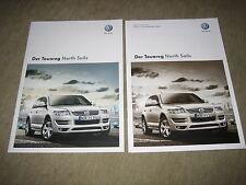 VW Touareg North Sails Sondermodell Prospekt Brochure von 11/2008 + Preisliste